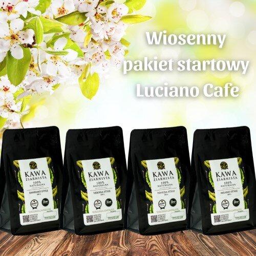 Wiosenny pakiet startowy kaw ziarnistych Luciano Style